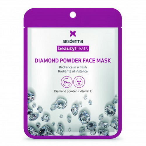 Beautytreats Diamond Powder Face Mask | Маска для сияния кожи