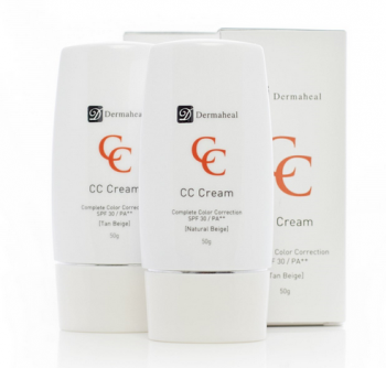 Dermaheal CC Cream SPF 30 (Natural Beige / Tan Beige)