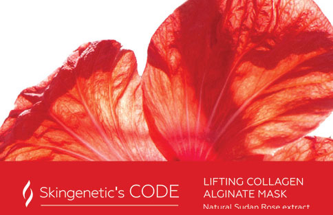 Alginat-Mask Lifting Collagen Stimulating Skingenetic's Code / Лифтинг-маска
